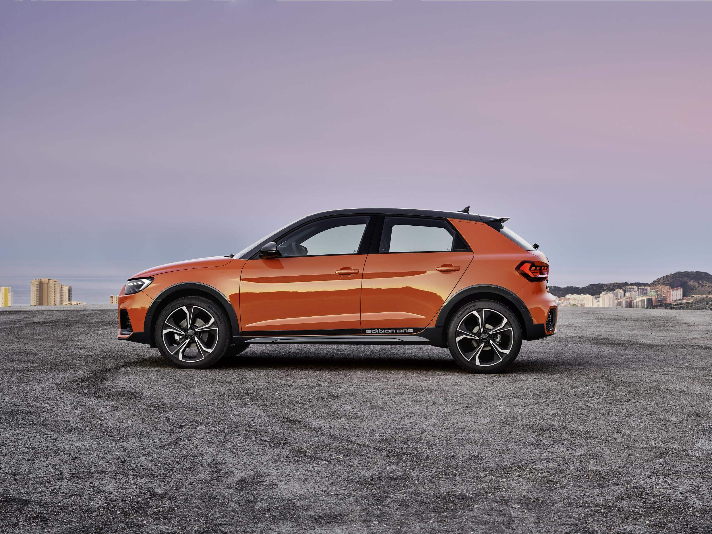 Audi A1 citycarver: lateral