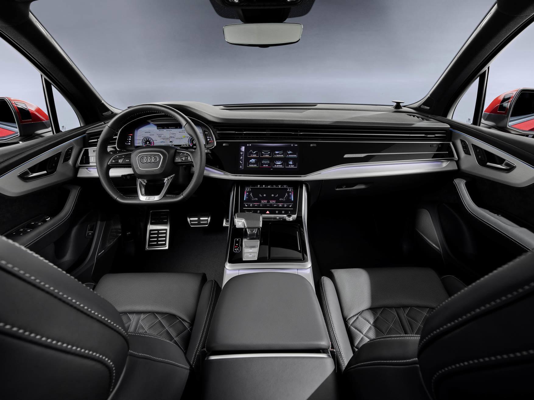 Audi Q7 2019: interior