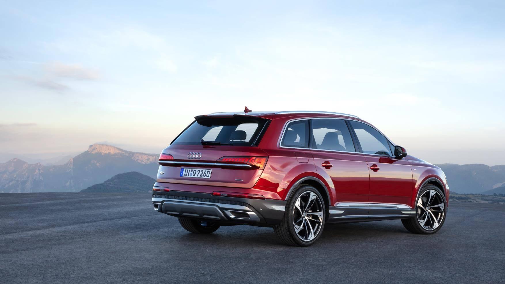 Audi Q7 2019: trasera