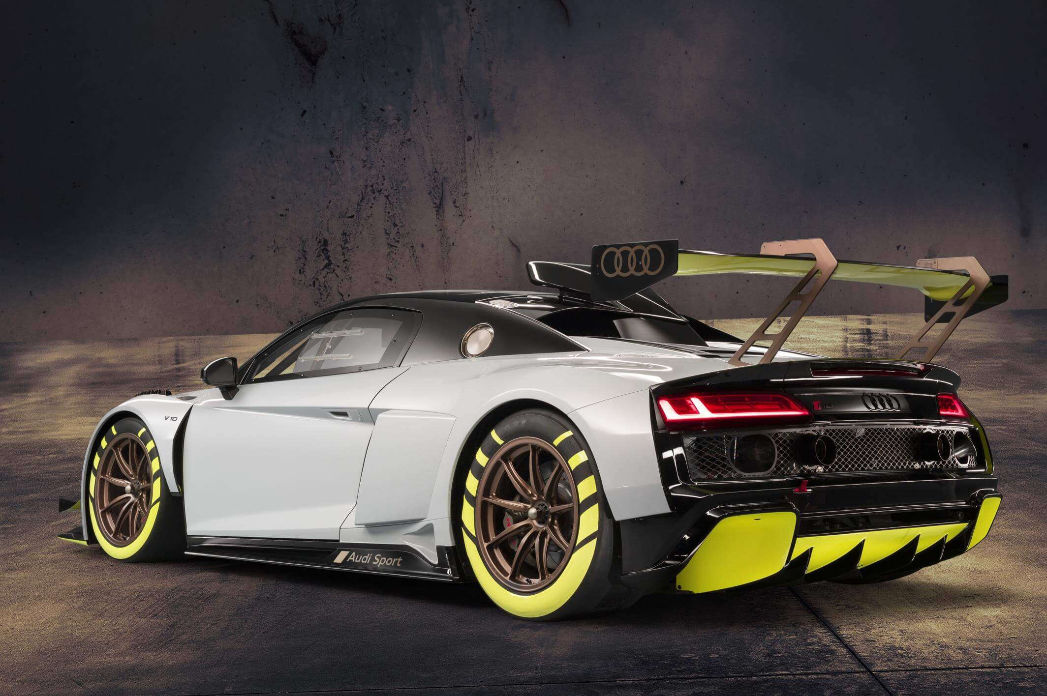 Audi R8 LMS GT2: trasera