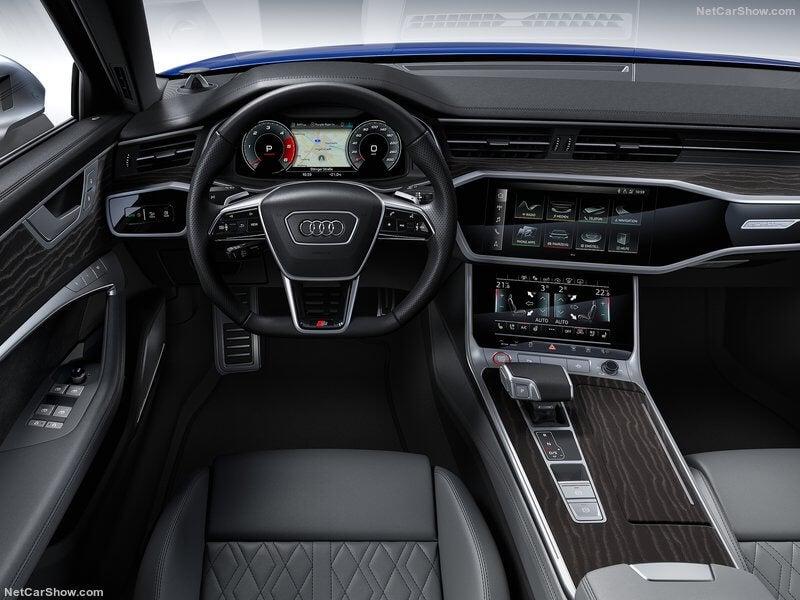 Interior del Audi S6 TDI 2020.