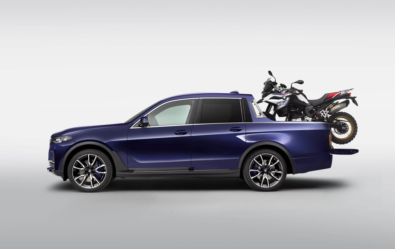 BMW X7 Pick-up: concept de un segmento SUV camioneta premium