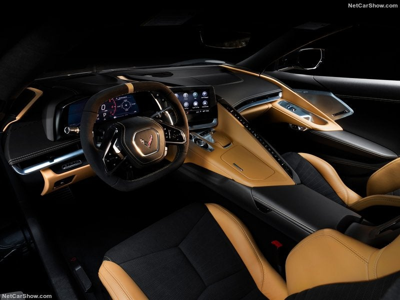 Chevrolet Corvette C8, interior.