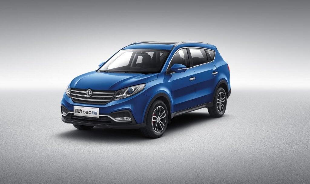 DFSK 580, el SUV chino de 7 plazas y 7 años de garantía llega a España