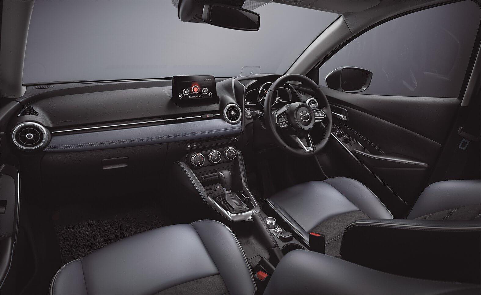 Mazda 2 2020: interior.
