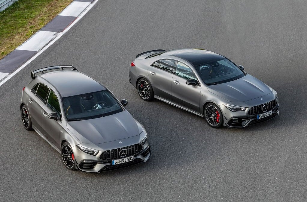 Mercedes-AMG A 45 y CLA 45, compactos de hasta 421 CV de potencia