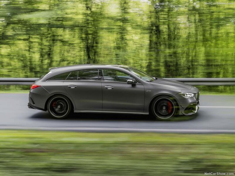 Mercedes CLA 45 4MATIC+ Shooting Brake, lateral