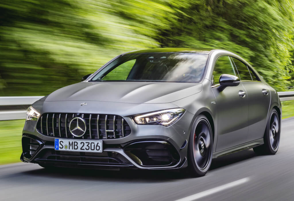 Mercedes-AMG CLA 45 S: frontal.