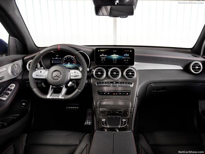 Mercedes GLC 43 AMG, diseño interior.