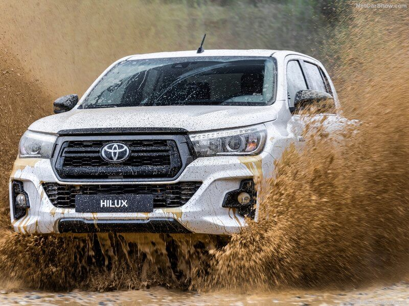 Capacidades off-road del Toyota Hilux Special Edition.
