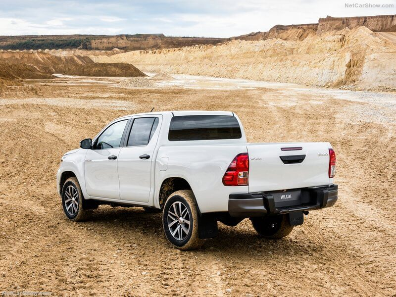 Toyota Hilux Special Edition, trasera.
