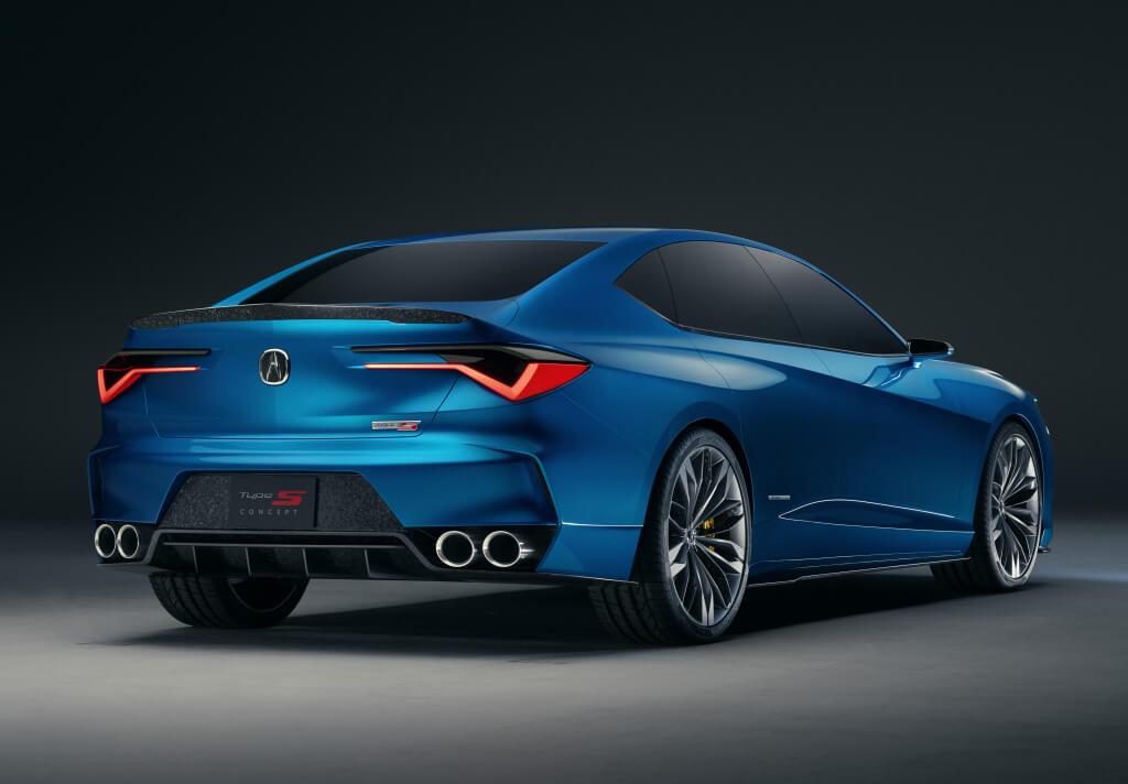 Acura Type-S Concept: zaga.