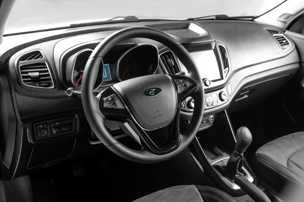 DR 6 Touring: interior.