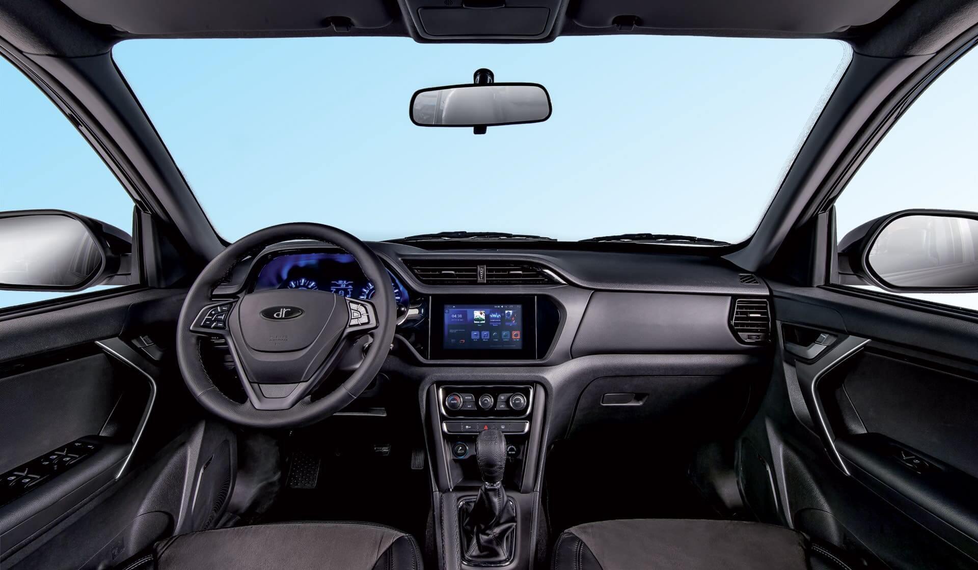 DR EVO 5: interior.