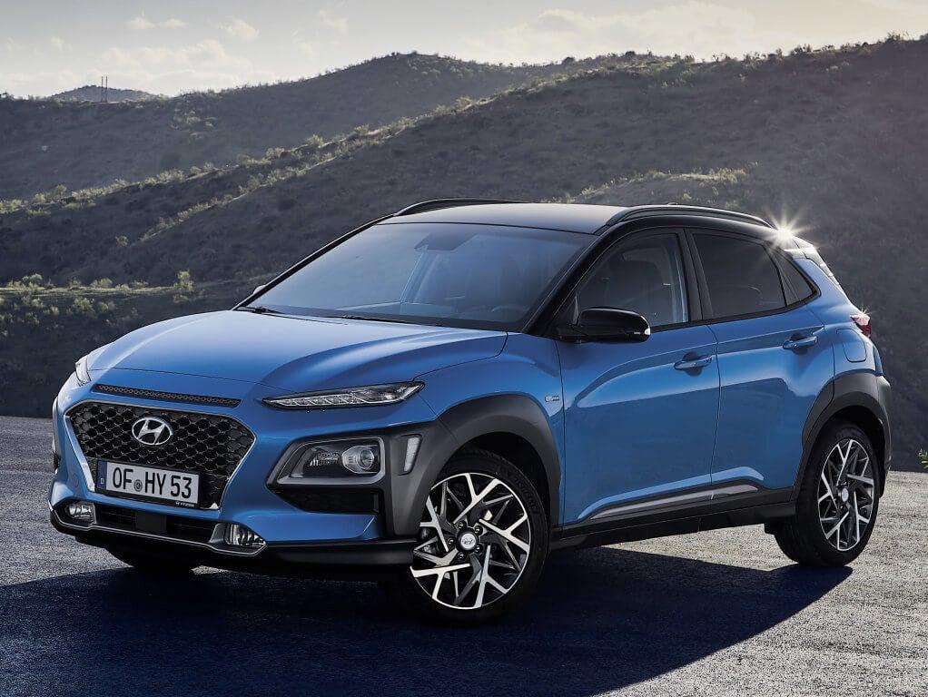 Hyundai Kona Hybrid, 141 CV de potencia y etiqueta ECO
