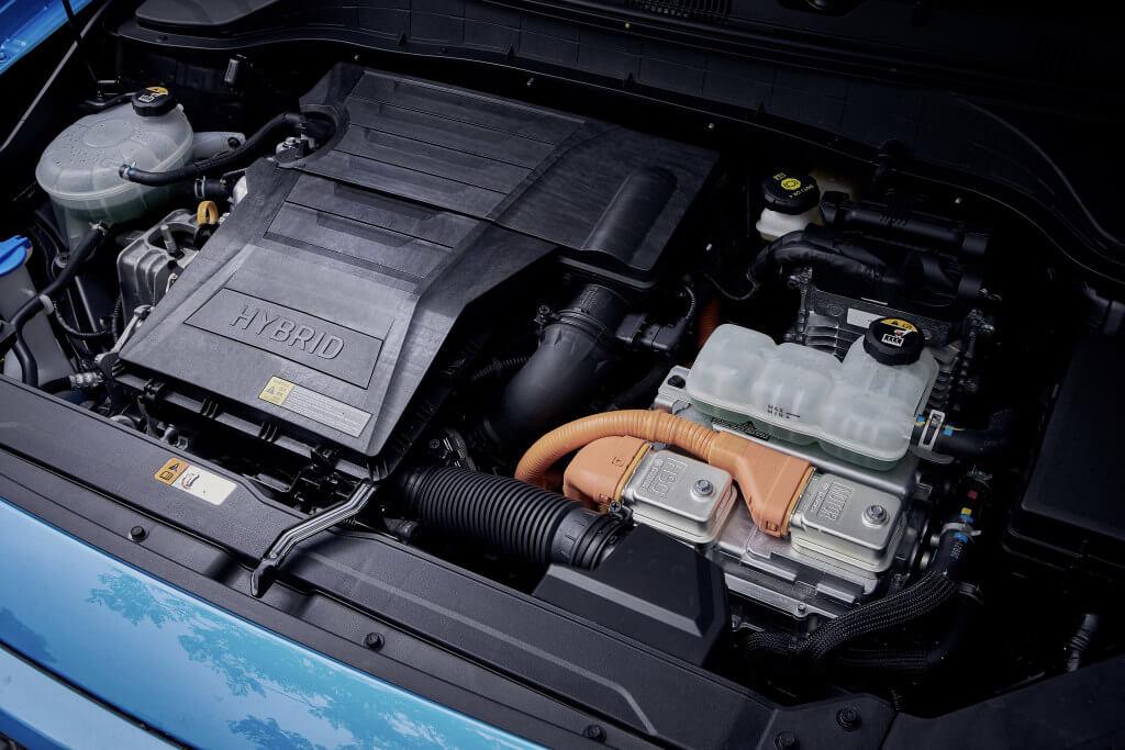 Hyundai Kona Hybrid: motor.