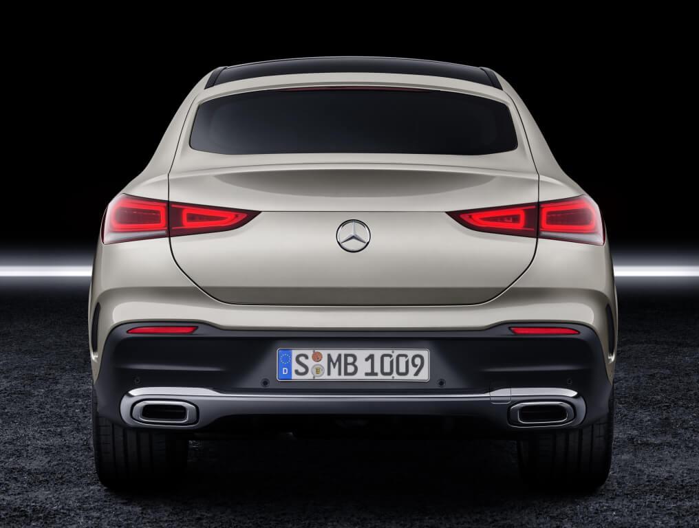 Mercedes GLE Coupé, diseño trasero.