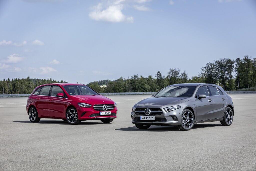 EQ Power: la gama híbrida enchufable de Mercedes llega a los Clase A y Clase B