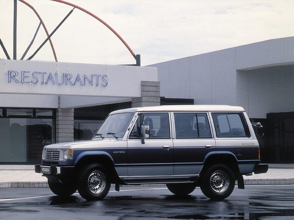 Primera generación del Mitsubishi Montero.