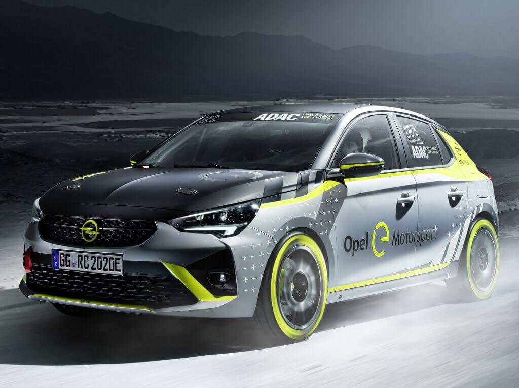 Opel Corsa-e Rally, el primer eléctrico de los tramos