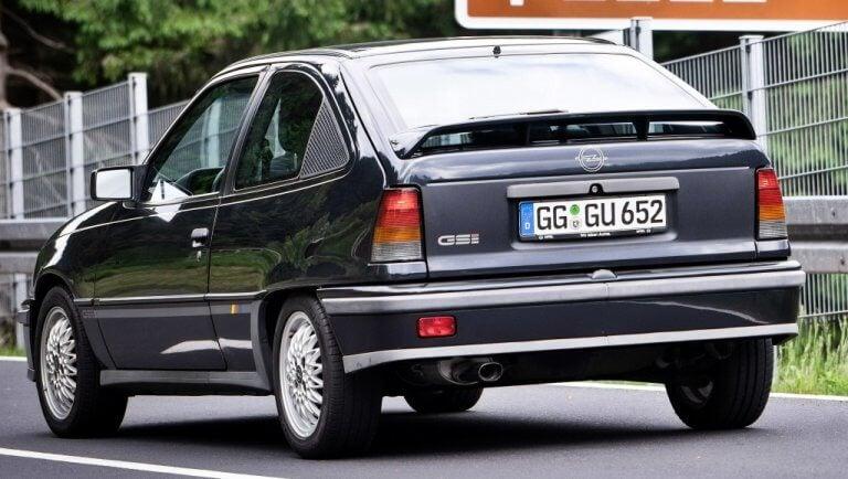 Opel Kadett GSI 16v, el deseado por los mecánicos