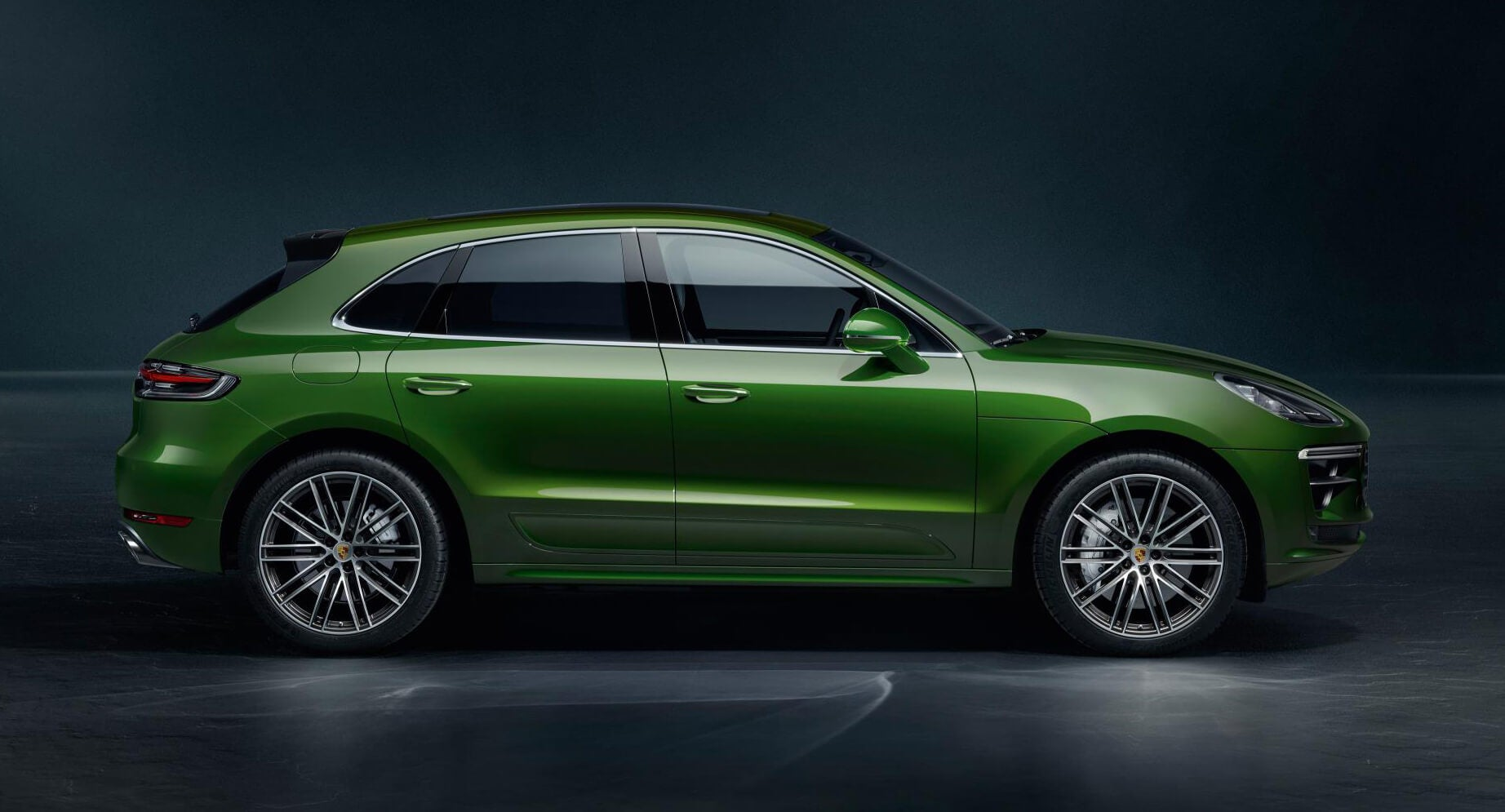 Lateral del Porsche Macan Turbo 2019