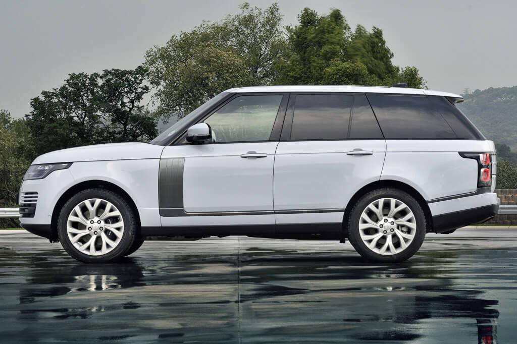 Lateral del Range Rover.