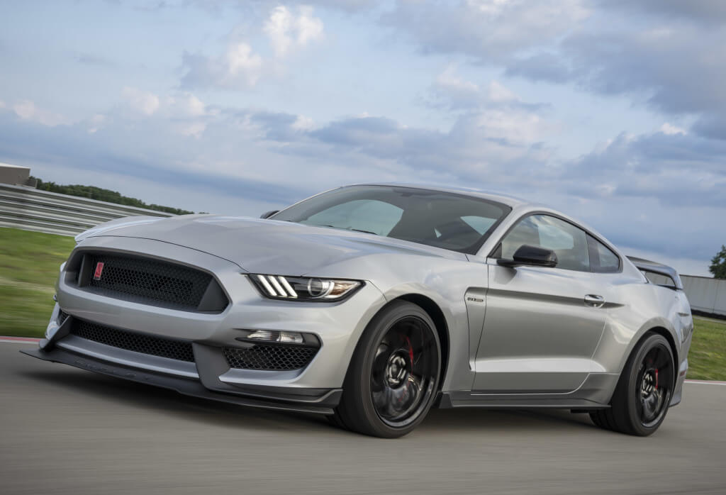 Shelby Mustang GT350R: frontal.