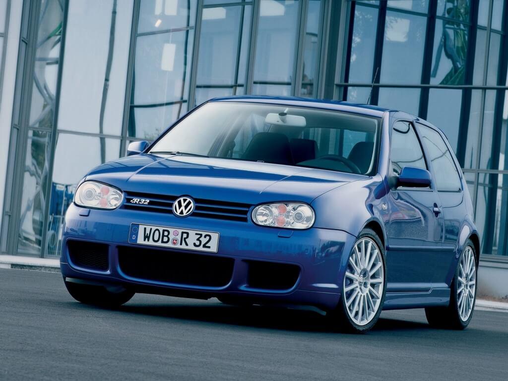 Volkswagen Golf (IV) R32: frontal.