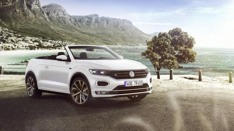 Volkswagen T-Roc Cabrio, un C-SUV a cielo descubierto