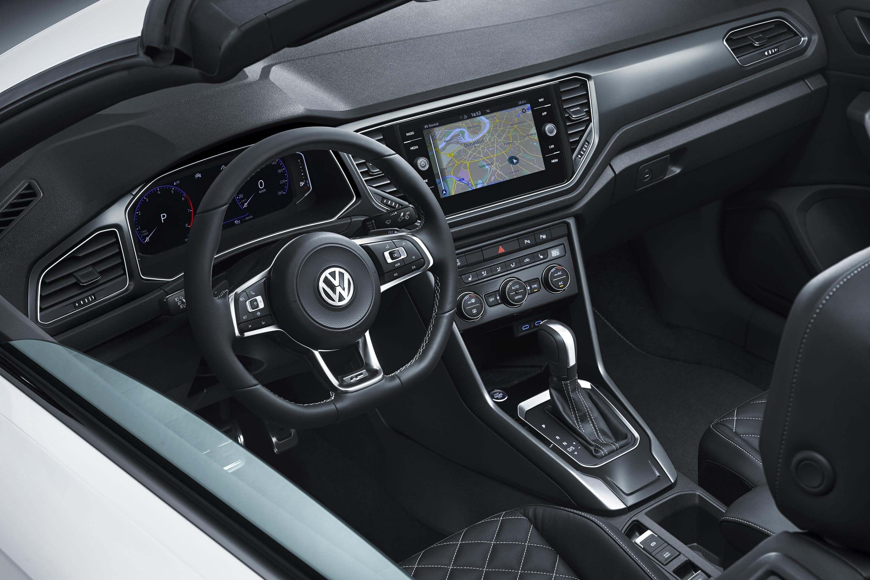 Interior del Volkswagen T-Roc Cabrio