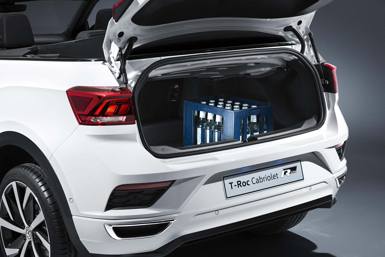 Maletero del Volkswagen T-Roc Cabrio