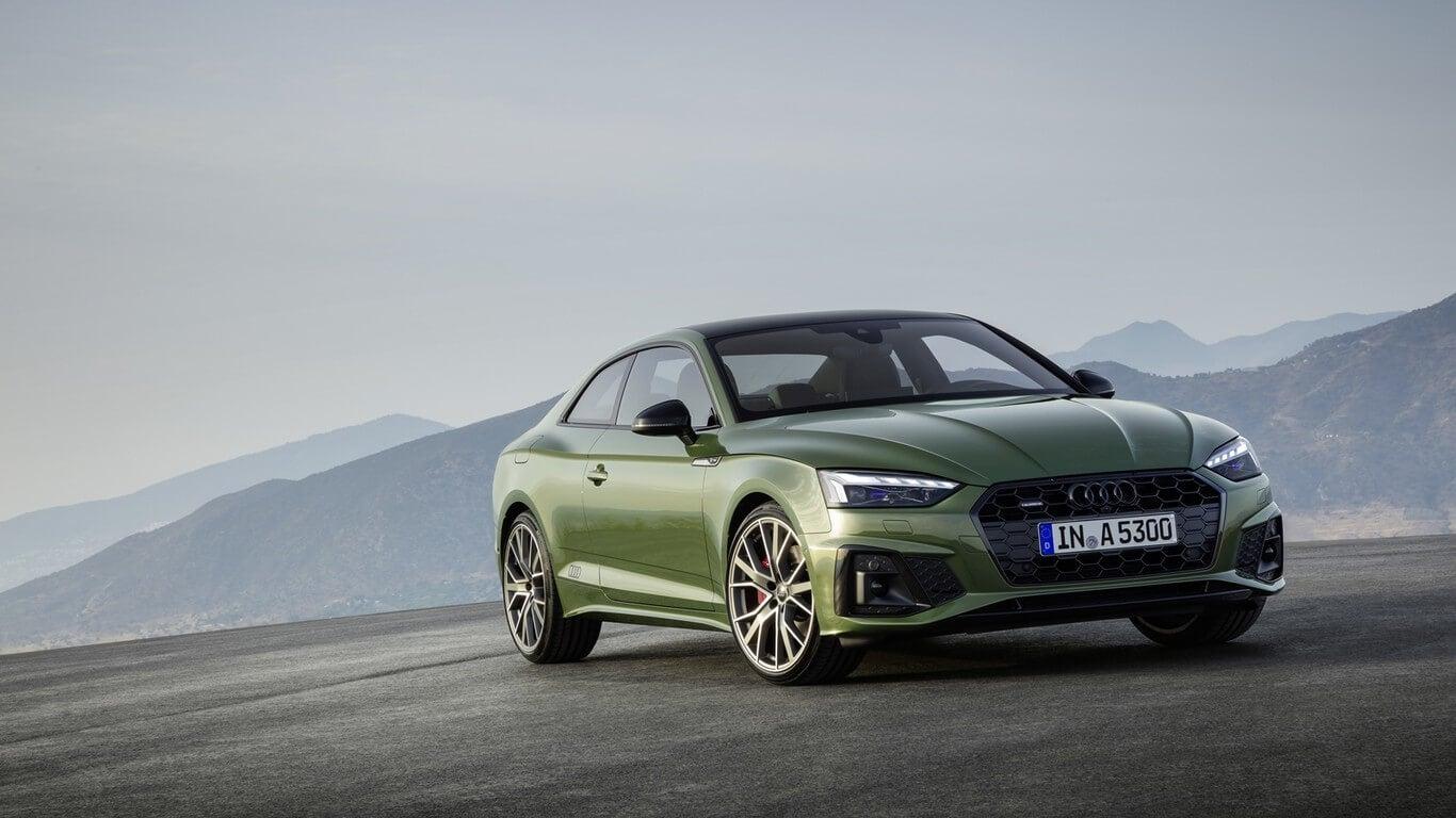 Frontal del Audi A5 2020