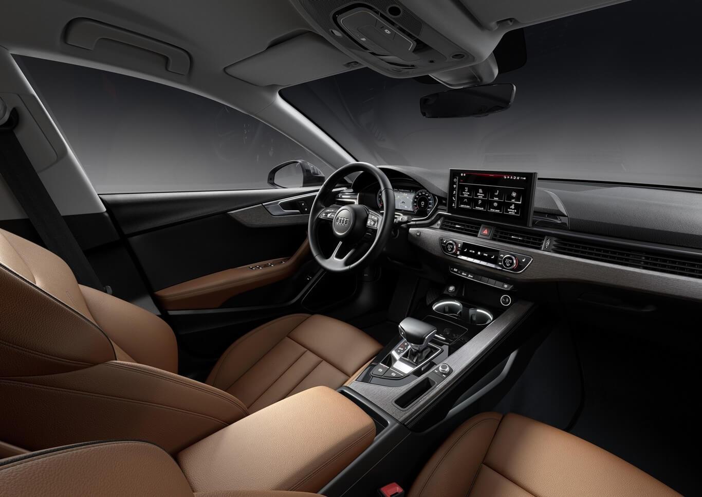 Audi A5 2020, interior.