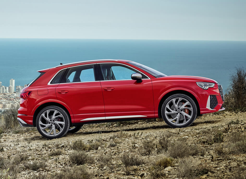 Audi RS Q3, lateral.