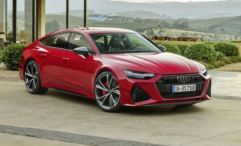 Audi RS7 Sportback, microhíbrido y disponible con 5 plazas