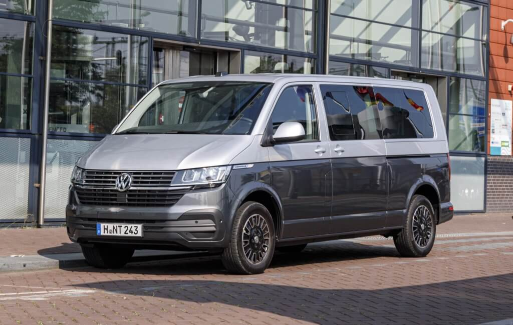 Volkswagen Transporter Bulli T6.1, actualización tecnológica