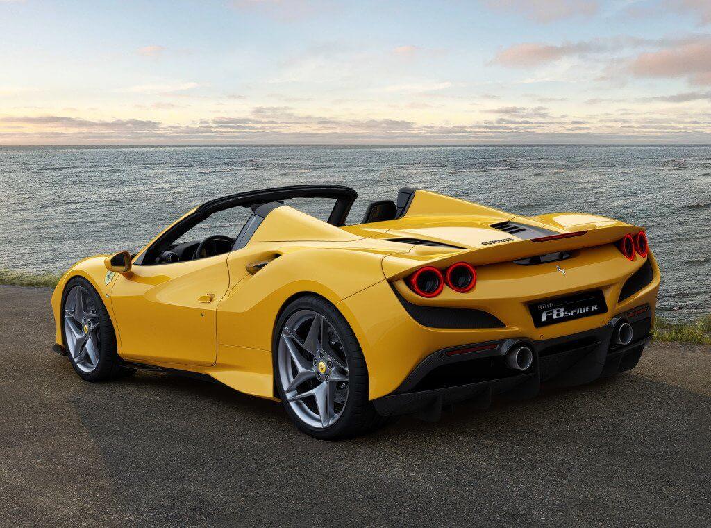 Ferrari F8 Spider, la nueva referencia