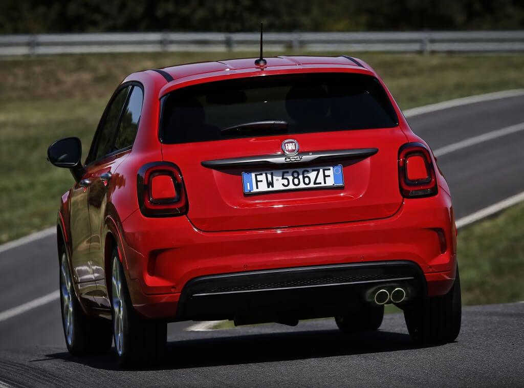 Fiat 500X Sport: zaga.