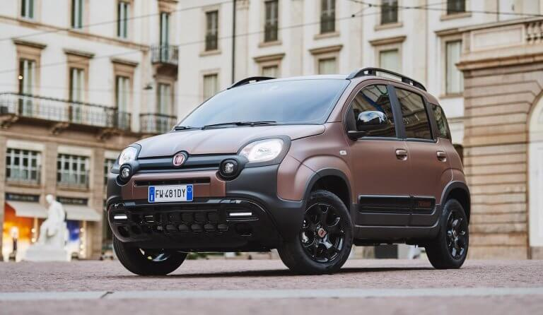 Fiat Panda Trussardi, utilitario italiano a la moda