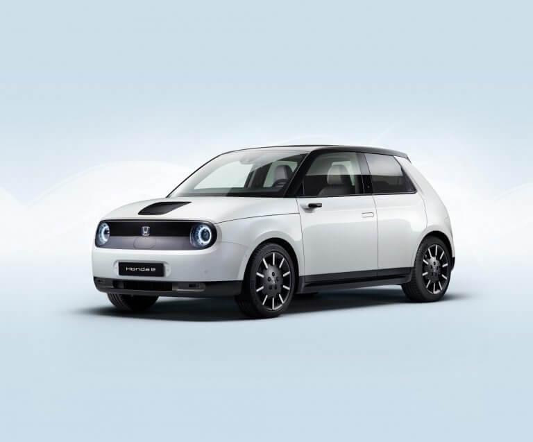 Honda e, un eléctrico con estética 'retro' y tracción trasera