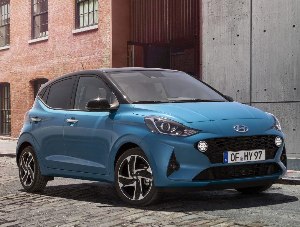 Hyundai i10 2020: frontal.