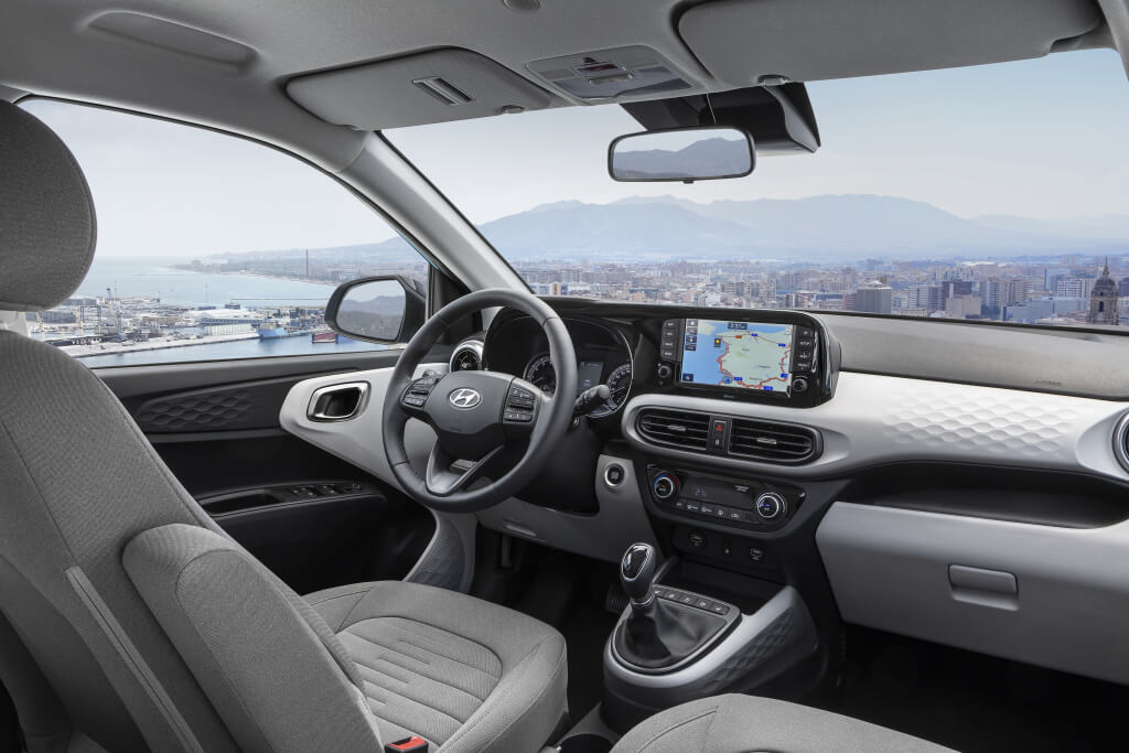 Hyundai i10 2020: interior.