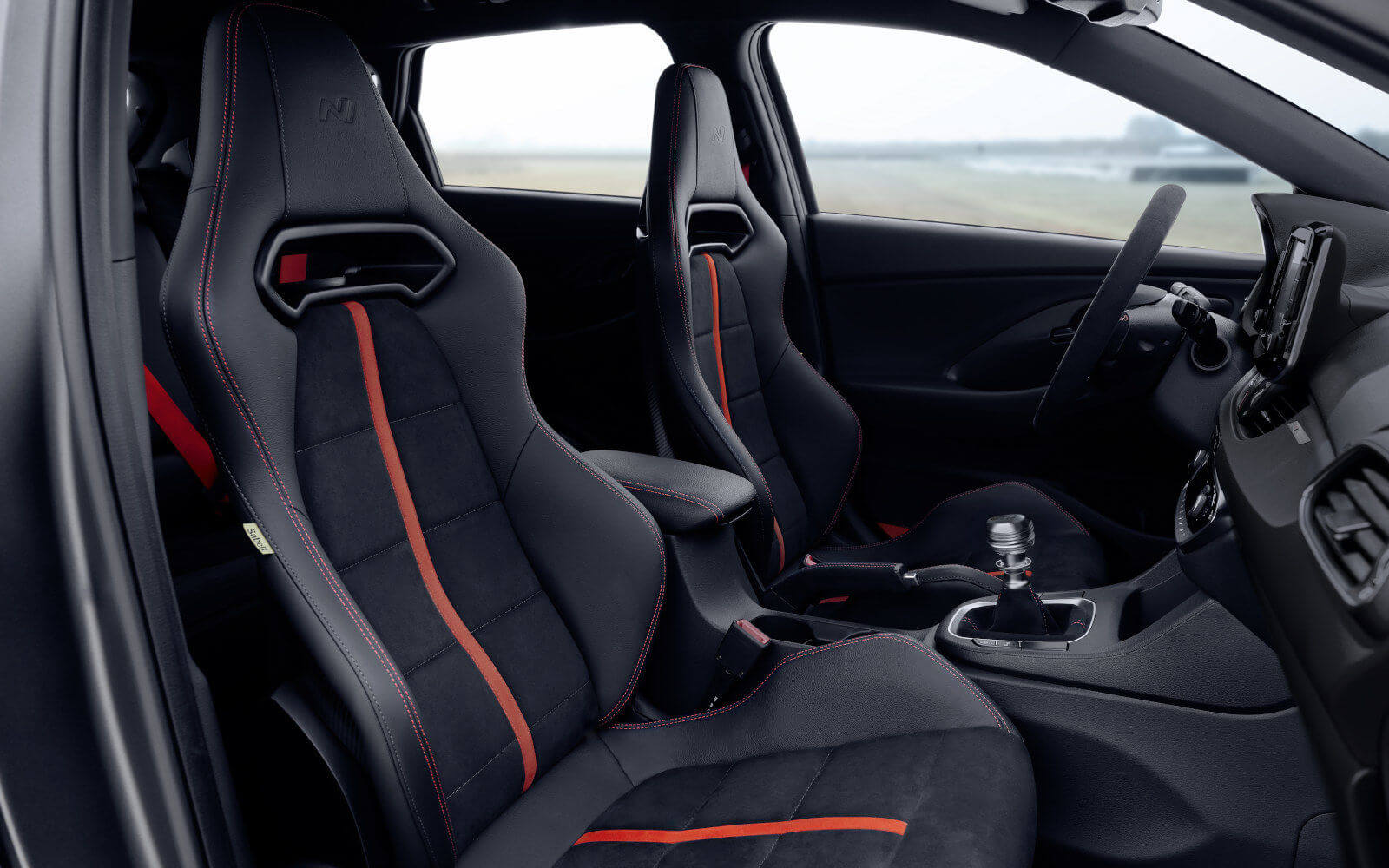 Interior del Hyundai i30 N Project C