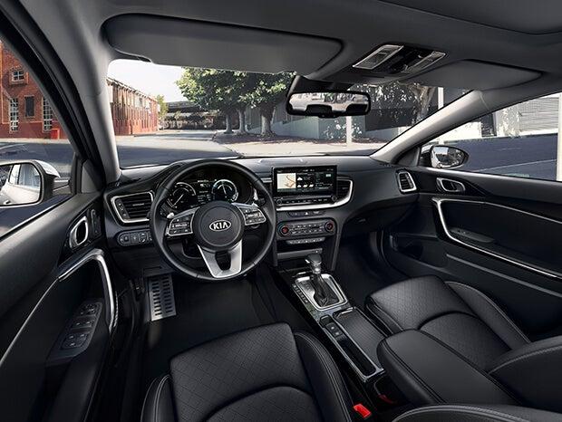 Interior de los Kia XCeed y Ceed Tourer híbridos enchufables