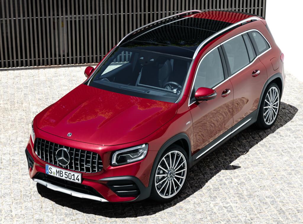 Imagen superior del Mercedes-AMG GLB 35.