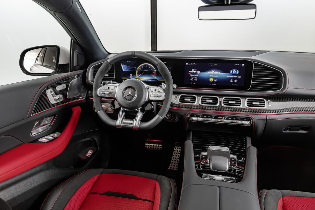 Mercedes-AMG GLE 53 Coupé, interior.