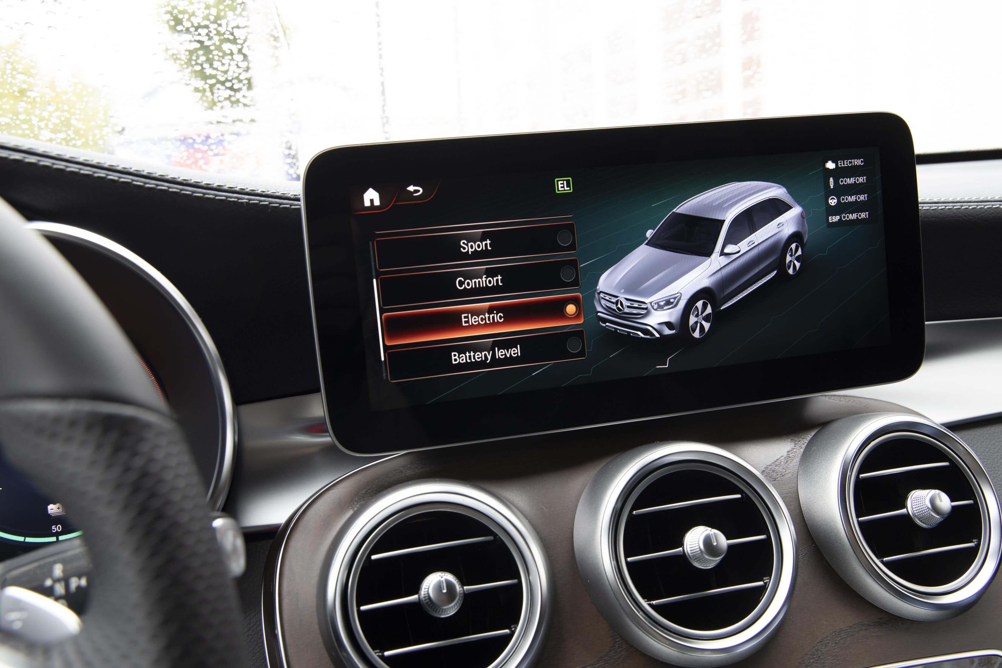 Modos de conducción de los Mercedes GLE 350 de 4MATIC y GLC 300 e 4MATIC