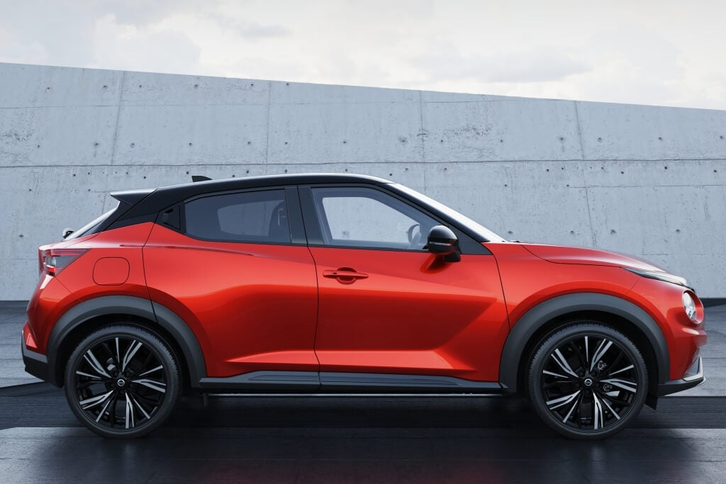 Lateral del Nissan Juke 2020.