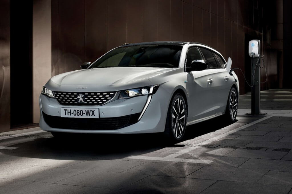 Peugeot 508 Hybrid, la berlina francesa enchufable